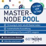 Verdiene mit Masternode-Pool Getnode