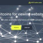 Verdiene Bitcoins durch Ansehen von Internet-Werbung
