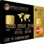 Verdiene mit der Gold gedeckten Mastercard