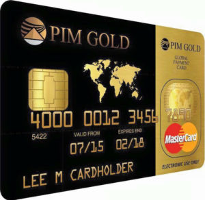 PIM Gold Card